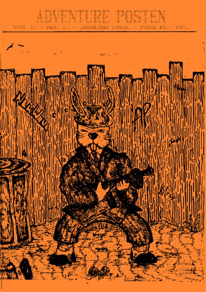Forsiden af Vol 2, no 7 - 1989