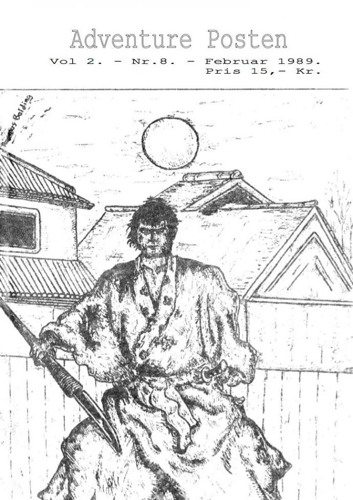 Forsiden af Vol 2, no 8 - 1989