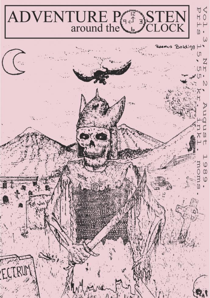Forsiden af Vol 3, no 2 - 1989