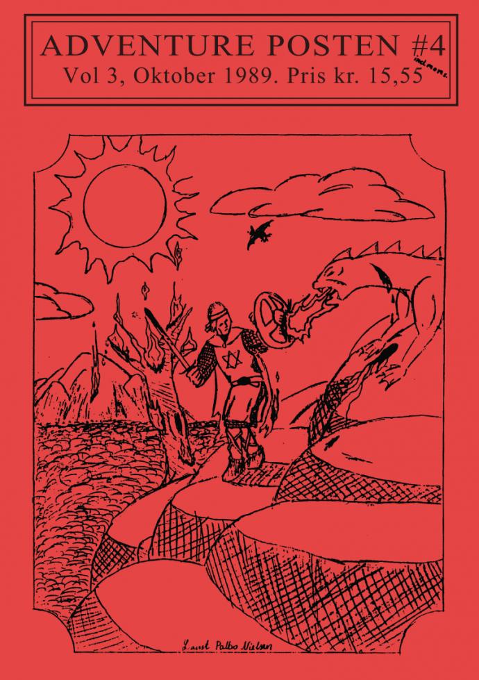 Forsiden af Vol 3, no 4 - 1989